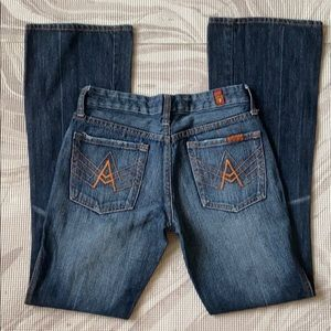 7 Seven for all Man Kind A Jeans Sz 25